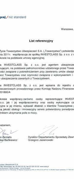 Certyfikaty, referencje i nagrody